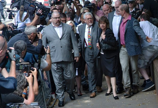 Rolf Harris sentence for abuse case