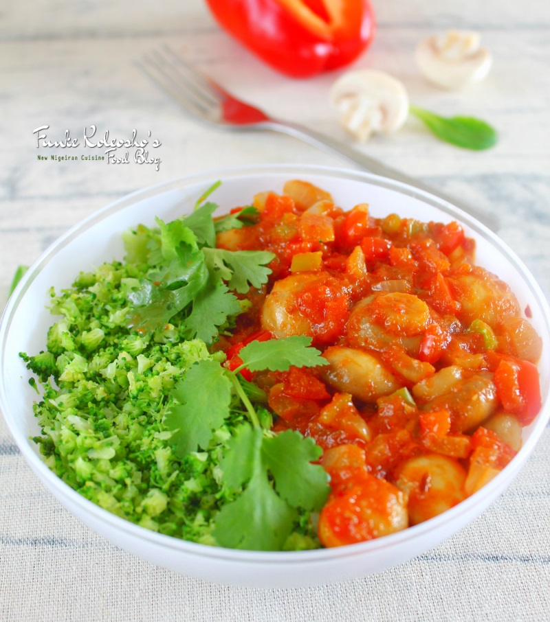 Riced Vegetables by Funke Koleosho - The Christian Mail