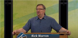 Saddleback Church - Rick Warren - The Christian Mail