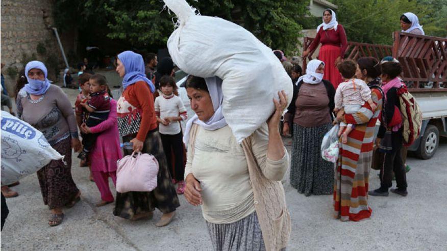 Mideast Iraq _Yazidis_AP_660
