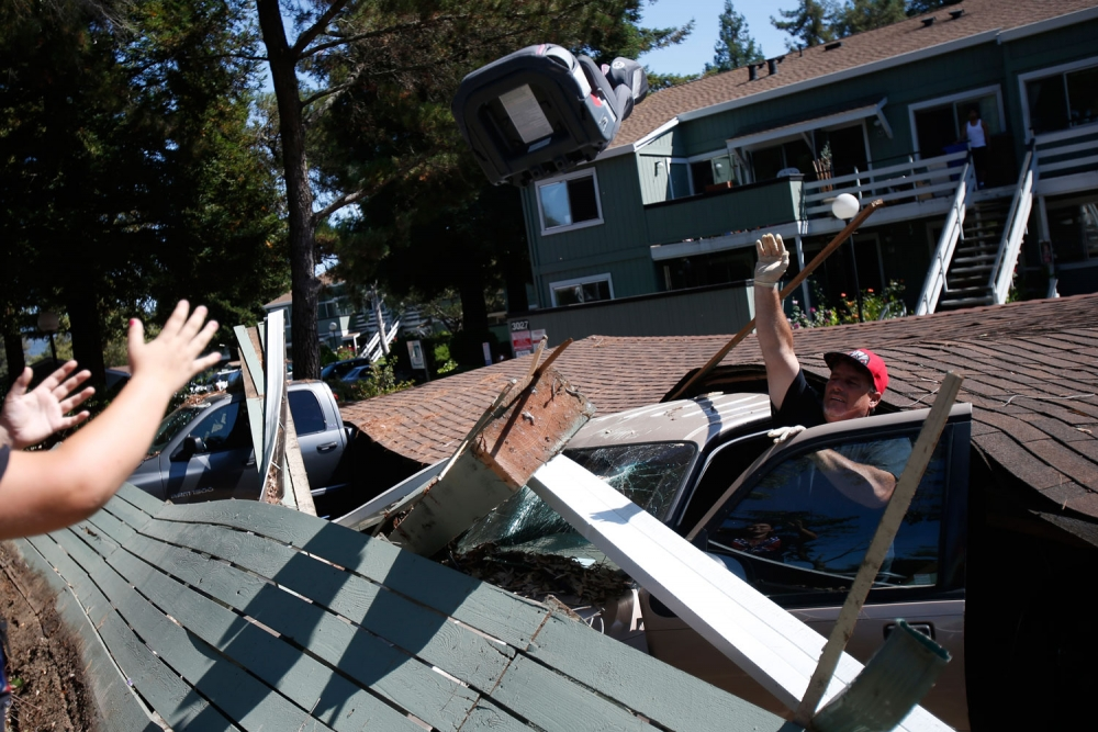 North California Quake: 160 People Injured in Area Strongest Earthquake in 25 Years