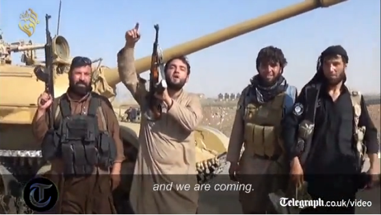 Disturbing Video message to the entire world by ISIS militants