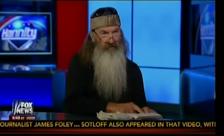 Duck Dynasty Phil Robertson takes on ISIS: Convert Them or Kill Them