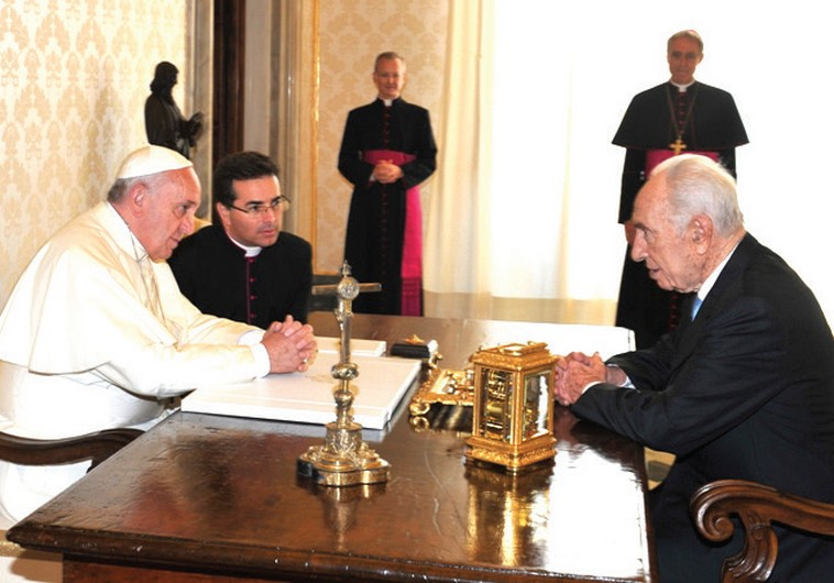 Former Israeli President Shimon Peres Proposes 'UN for Religions' to Vatican