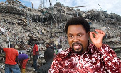 Nigeria church collapse leaves 41 dead