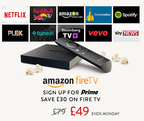 Amazon Launch Fire TV box launches in the UK