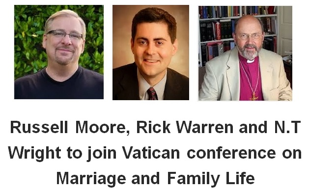 Russell Moore, Rick Warren to join Vatican conference on marriage and family life