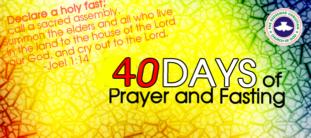 End of RCCG 40days fasting