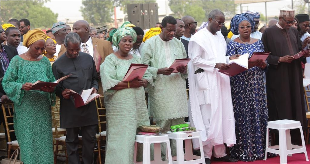 Pastor Adeboye and Others Give thanks