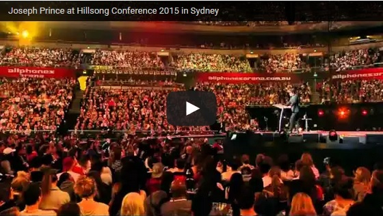 oseph Prince at Hillsong Conference 2015 in Sydney