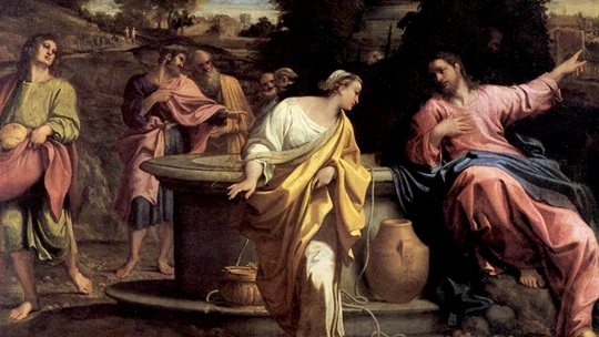 The Samaritan Woman at the Well by Annibale Carracci