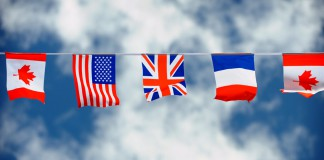 U.S, Other Nations Show Support for France