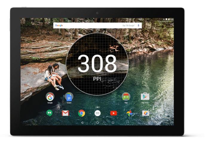 More megapixels to tap, pinch, swipe