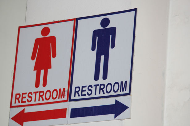 Boys Not Allowed in Girls' Restroom