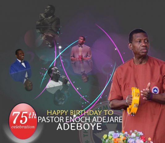 Pastor Adeboye at 75