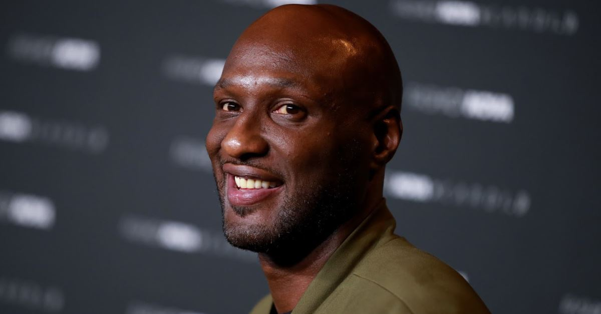 Former NBA Player Lamar Odom Is 'Walking With The Lord