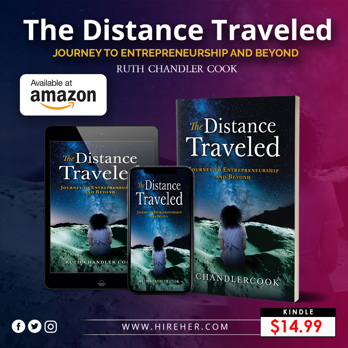 The Distanced Traveled by Ruth Chandler Cook