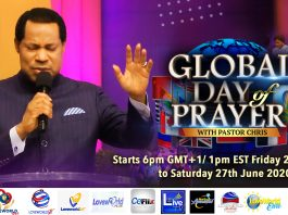 Global Day of PRAYER with Pastor Chris - The Christian Mail