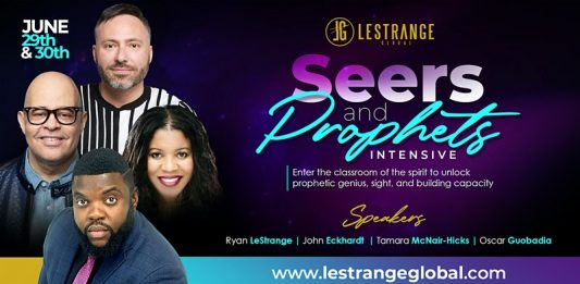 Seers and Prophets Intensive - The Christian Mail