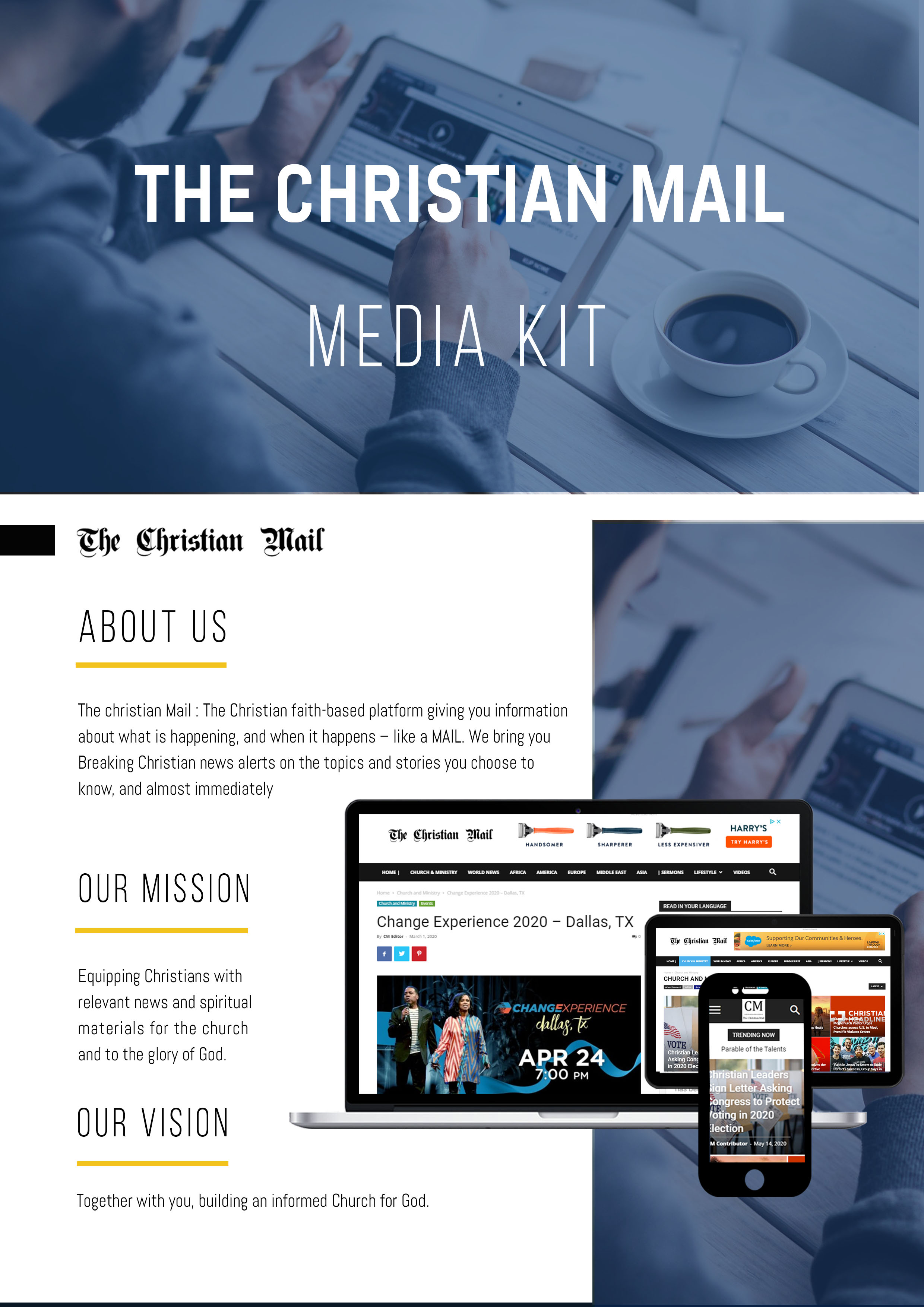 Advertising in The Christian Mail