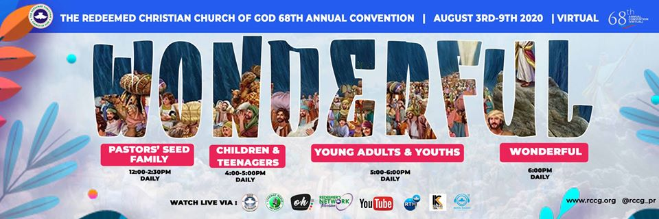 RCCG 2020 Annual Virtual Convention - The Christian Mail